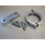 Anode Anoden Anodensatz Anodenkit Mercruiser Alpha One Gen 2 II Aluminium sternd