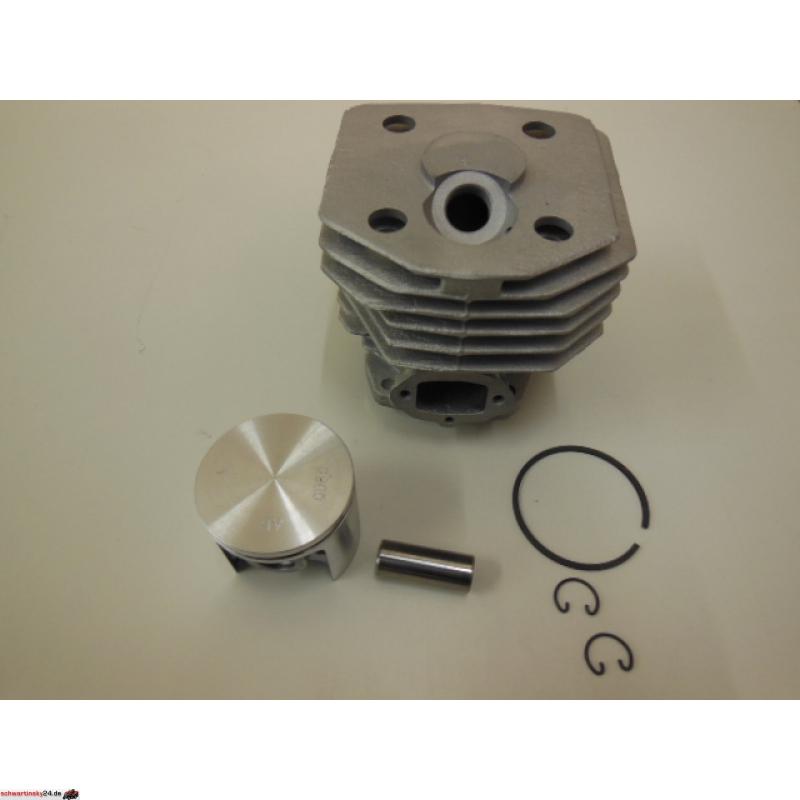 Zylinder Zylinderkit Zylindersatz Kolben passend Husqvarna 353 45mm Dekobohrung