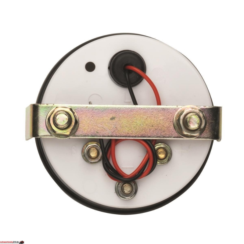 Amperemeter Ampereanzeige Boot Boat Marine Ammeter gauge 52 mm schwarz black