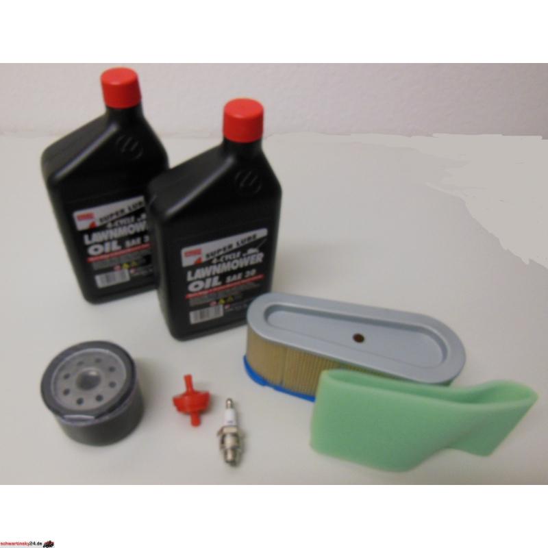 Luftfilter,Oel,Zündkerze für Briggs Stratton 3,5 PS Wartungs Set